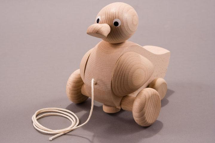 Wooden Quacker