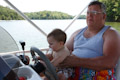 Boswell Family Boat Trip 2009