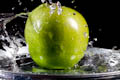 Green Apple Splatters