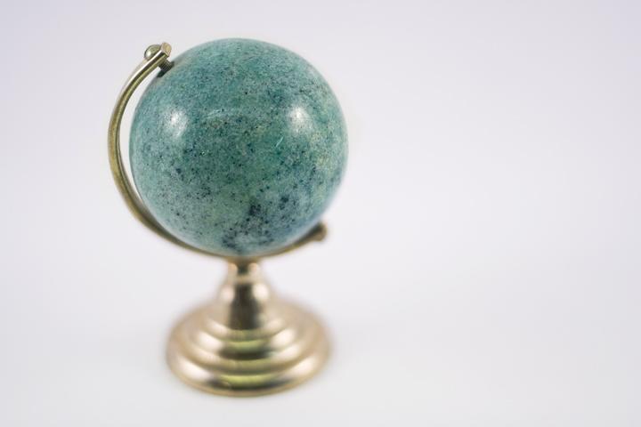 Alabaster Globe