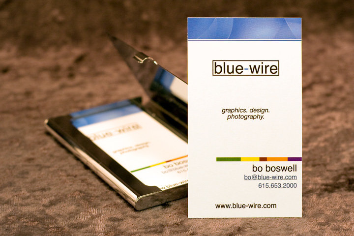 Blue-Wire.com Business Cards