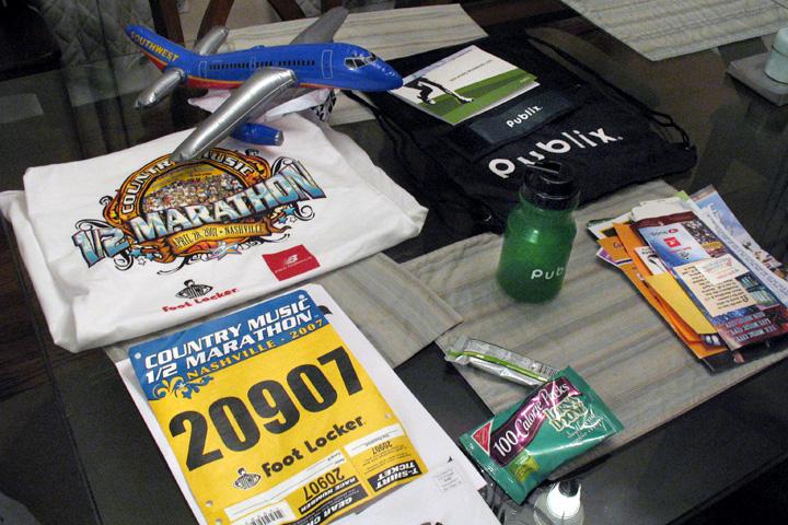 Marathon Runner's Pack