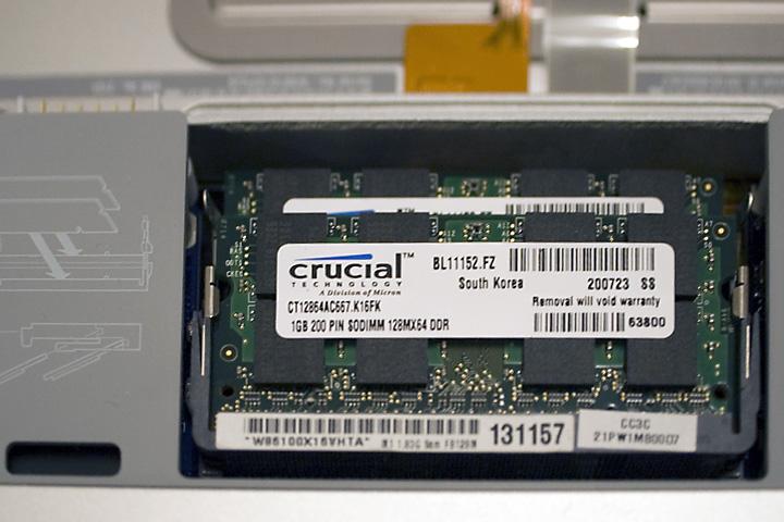 2 GB 667 MHz DDR2 SDRAM