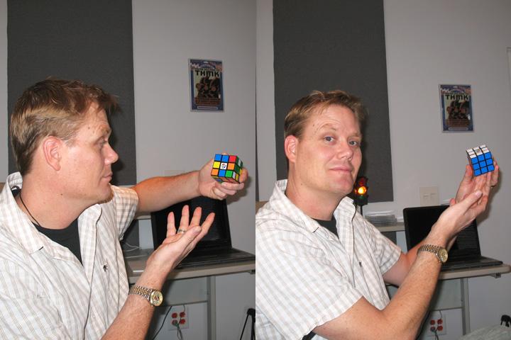 Ru-Ru-Ru Your Cube
