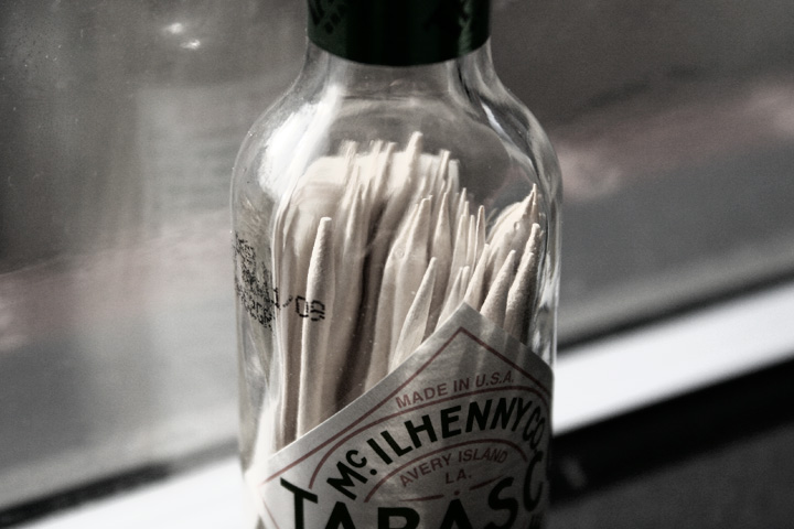 Tabasco Toothpick Dispenser