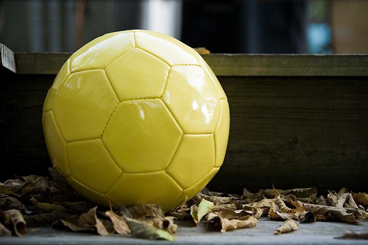 Shiny New Yellow Ball