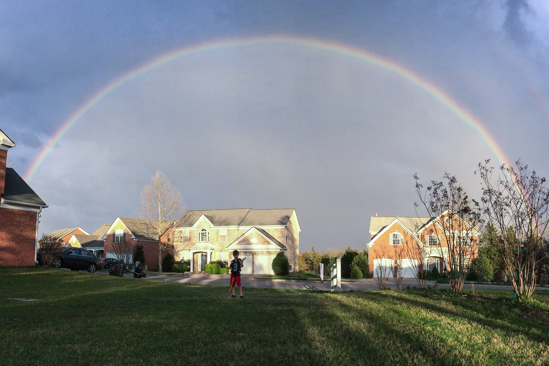 Backyard Rainbow
