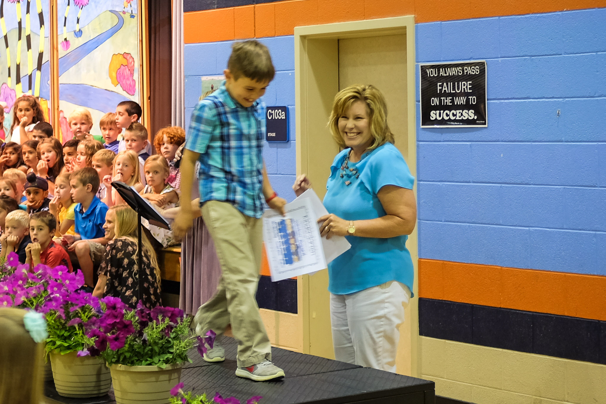 Weston's Kindergarten Graduation